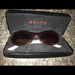 Ralph Lauren sun glasses w case